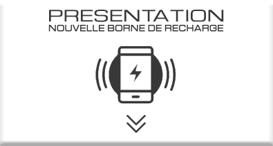 borne de recharge telephone